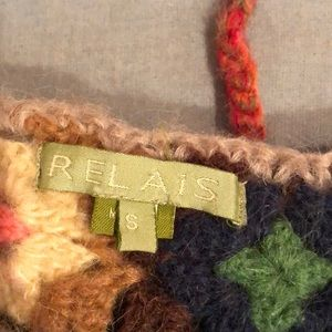 Relais Knitware Sweaters - Relais Wool & Mohair Sweater Size S